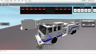 That's the best damn fire truck I've seen on ROBLOX