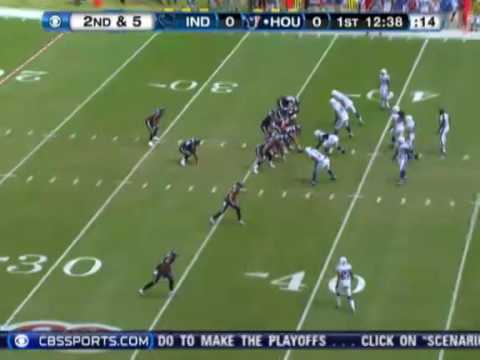 Colts @ Texans 2009 (Week Twelve) Radio Calls
