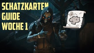 Destiny 2: Caydes Schatzkarten Guide Deutsch | Fundorte & Loot