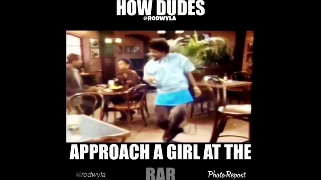 How dudes approach a girl at the bar youtube how dudes approach a girl at the bar ccuart Gallery