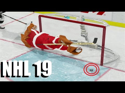 THE STATE OF NHL 19.... Bump.