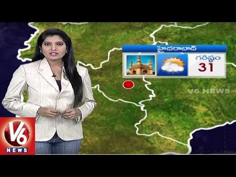 Weather Forecast | Temperature Levels In Telangana State | Monsoon Update | V6 News