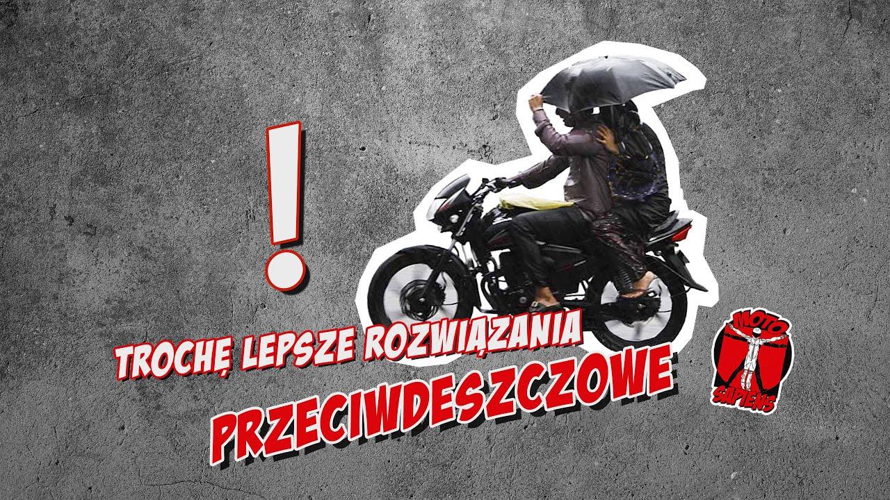 Jak wybrać kurtkę przeciwdeszczową na motocykl