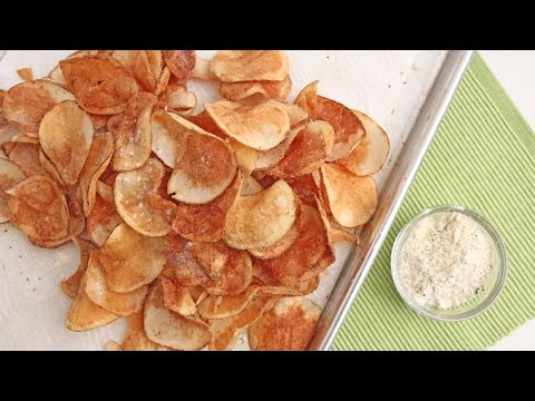 Homemade Sour Cream & Onion Chips - Laura Vitale - Laura in the Kitchen Episode 918