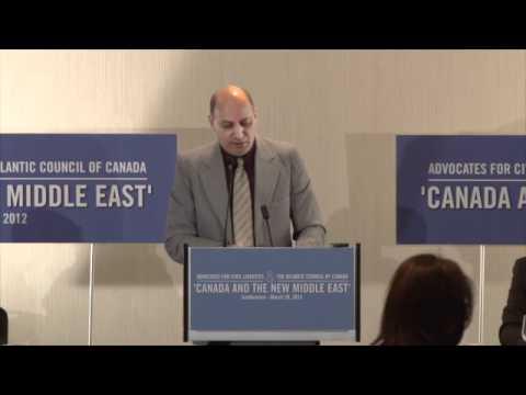 Panel III - Canada, Iran and the Arab Spring