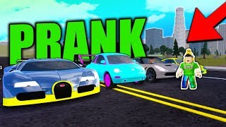 TROLLING SUPER CARs mit MAXED VOLKS BEETLE in VEHICLE SIMULATOR! (Roblox)