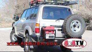 ARB Modular Rear Bumper Installation on Toyota FZJ80 Land Cruiser -...