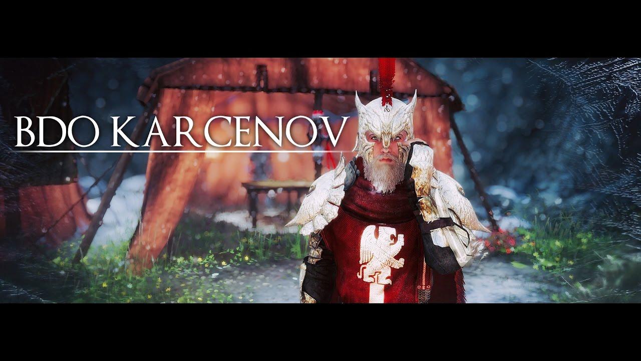 Skyrim Mod | BDO Karcenov Armor by Skajrim
