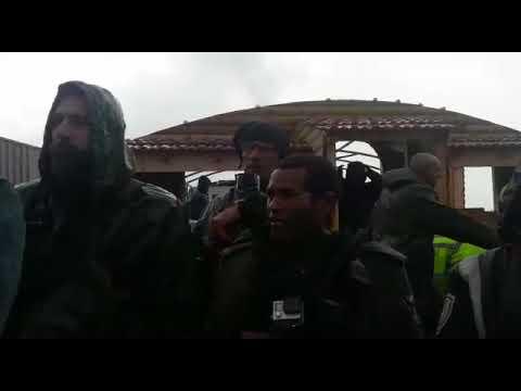 תיעוד: הרס בית משפחת שרירא בחוות ישוב הדעת