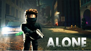 NEW REALISTIC SURVIVAL GAME!! -ALONE [Roblox]
