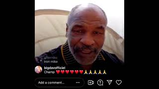 Iron Mike Tyson Hopes to See Floyd Mayweather Fight Manny Pacquiao for the second time.