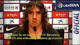 Vídeo homenaje a Carles Puyol