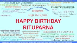 Rituparna   Languages Idiomas - Happy Birthday