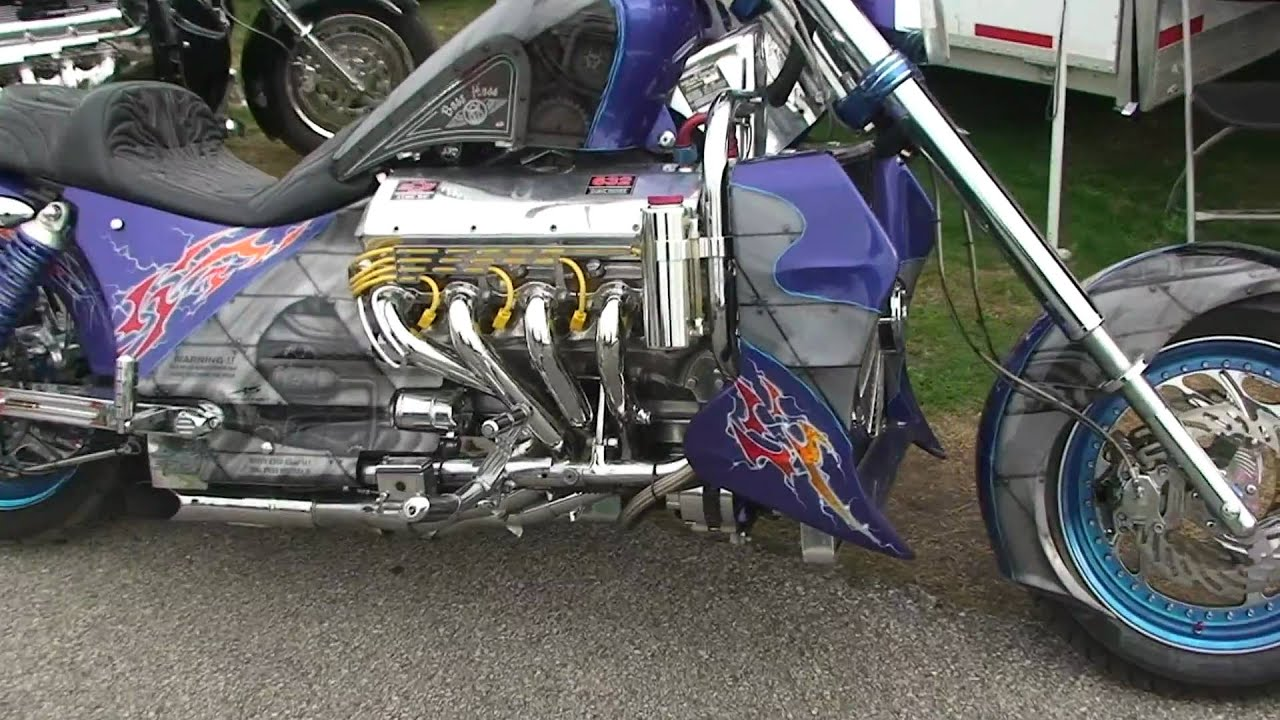 custom boss hoss 1100 hp chevy powered motorcycle youtube. Black Bedroom Furniture Sets. Home Design Ideas