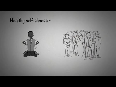 Why It's Important To Be Selfish