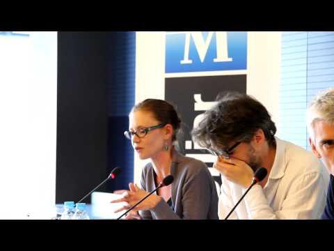 """ La Comédie du Livre "" - Conférence de Presse du Mardi 13 Mai 2014  de Philippe Saurel -."
