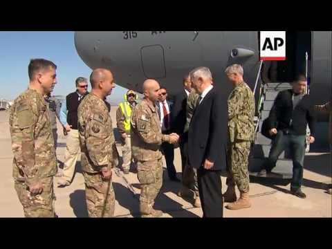 Raw: Mattis Makes Surprise Visit to Baghdad Mp3