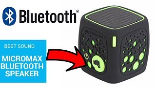 Micromax Play MBT3WSF Portable Bluetooth Speakers Unboxing And Reviews!