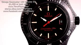 Omega Seamaster 120 Calypso Iii Pvd Nos New Old Stock Ladies Diver Cal. 1380