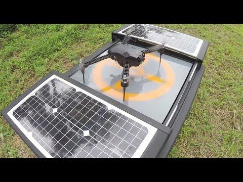 DRONEBOX - Solar Nesting Platform For Drones