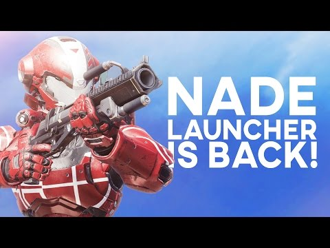 Halo 5 - Trying Out The Reach Grenade Launcher!