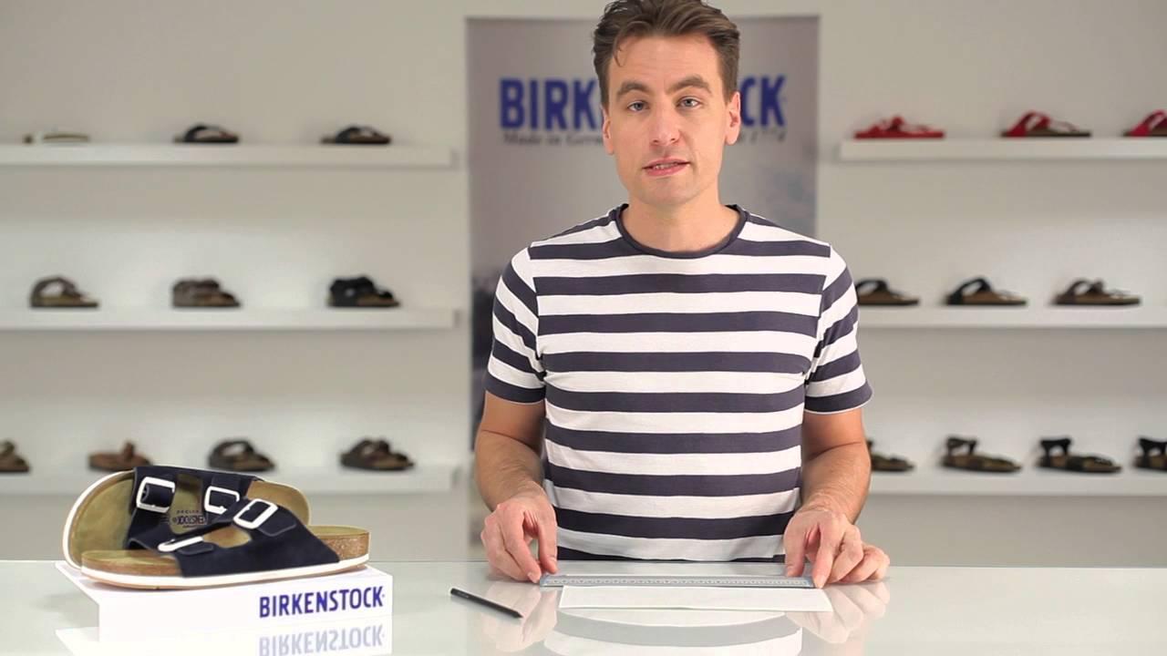Bien choisir sa pointure Birkenstock