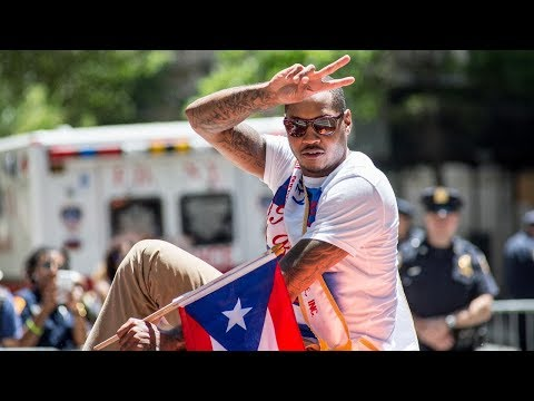 Carmelo Anthony  Organizes Hurricane Maria Puerto Rico Relief Fund Starting At 1 Million Dollars!!!