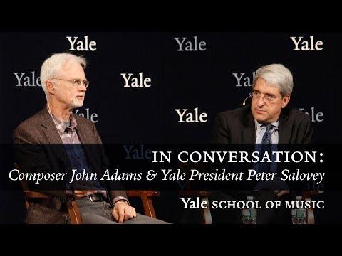 In Conversation: John Adams and Peter Salovey