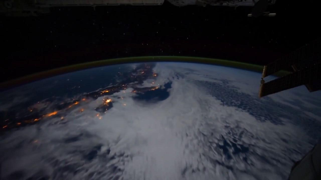 Hermosas Imagenes Nocturnas de la Tierra desde el Espacio en HD