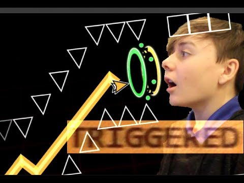 GETTING TRIGGERED OVER A G-DASH LEVEL. - Geometry Dash Recent Levels #4 | ChrisCredible