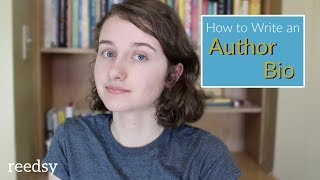 How to Write an Author Bio