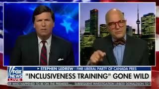 The Tucker Carlson Interview That Got Stephen LeDrew Suspended