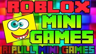 ROBLOX | BEST MINI GAMES | Ripull Mini Games | Fun and Funny Roblox Games | Full Gameplay
