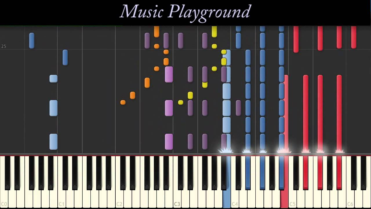 15 IMPOSSIBLE Tori Kelly   Dear No One   Piano   Full Synthesia