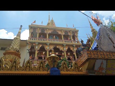 Vietnam Travel Pitu Khôsa Răngsây Pagoda in Can Tho City, Chua Khmer Noi Tieng