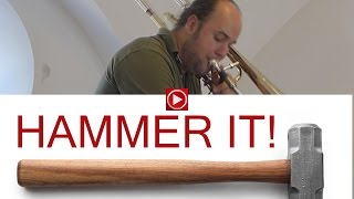 Hammer It! Amazing contrabass trombone!!