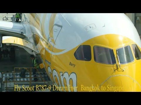 Fly Scoot B787-9 Bangkok to Singapore