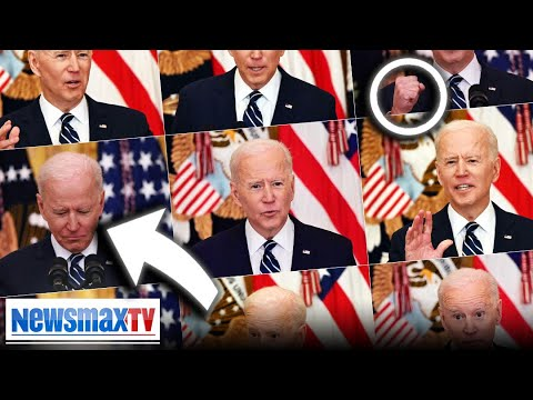 Body Language expert examines Biden's first press conference | EXCLUSIVE