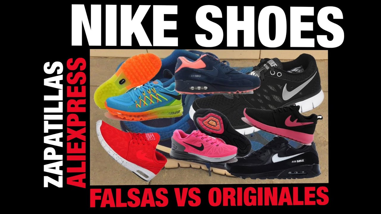 Nike Aliexpress Falsas vs Originales | Fake Nike shoes