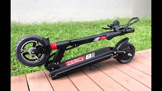 Zero 8 | Electric Scooter | First Short Ride | Testing PET