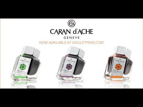 Introducing Caran d'Ache Chromatics Inkredible Colors- Ink Nouveau