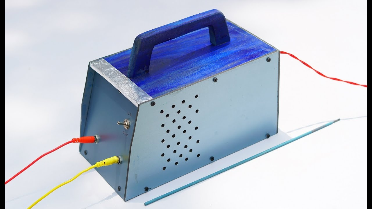 How to Make  Arc Welding Machine at Home