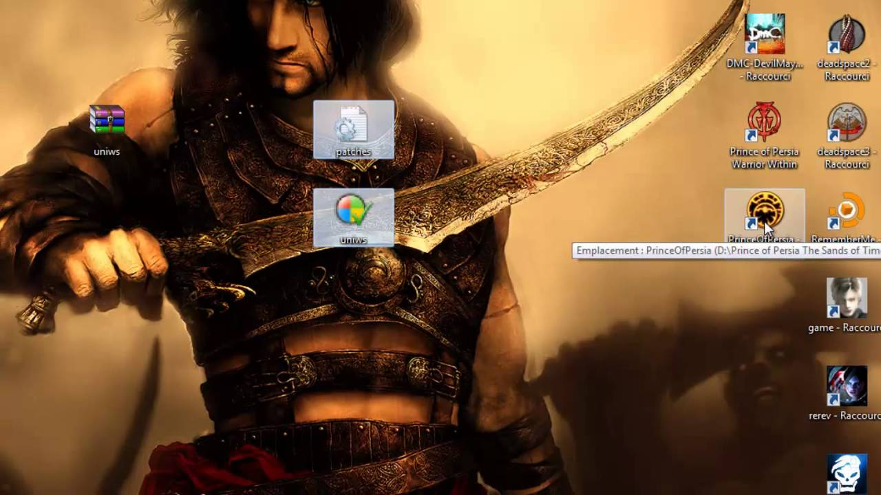 How To Play Prince Of Persia Sands Of Time Pc On 1366x768 Hd Youtube