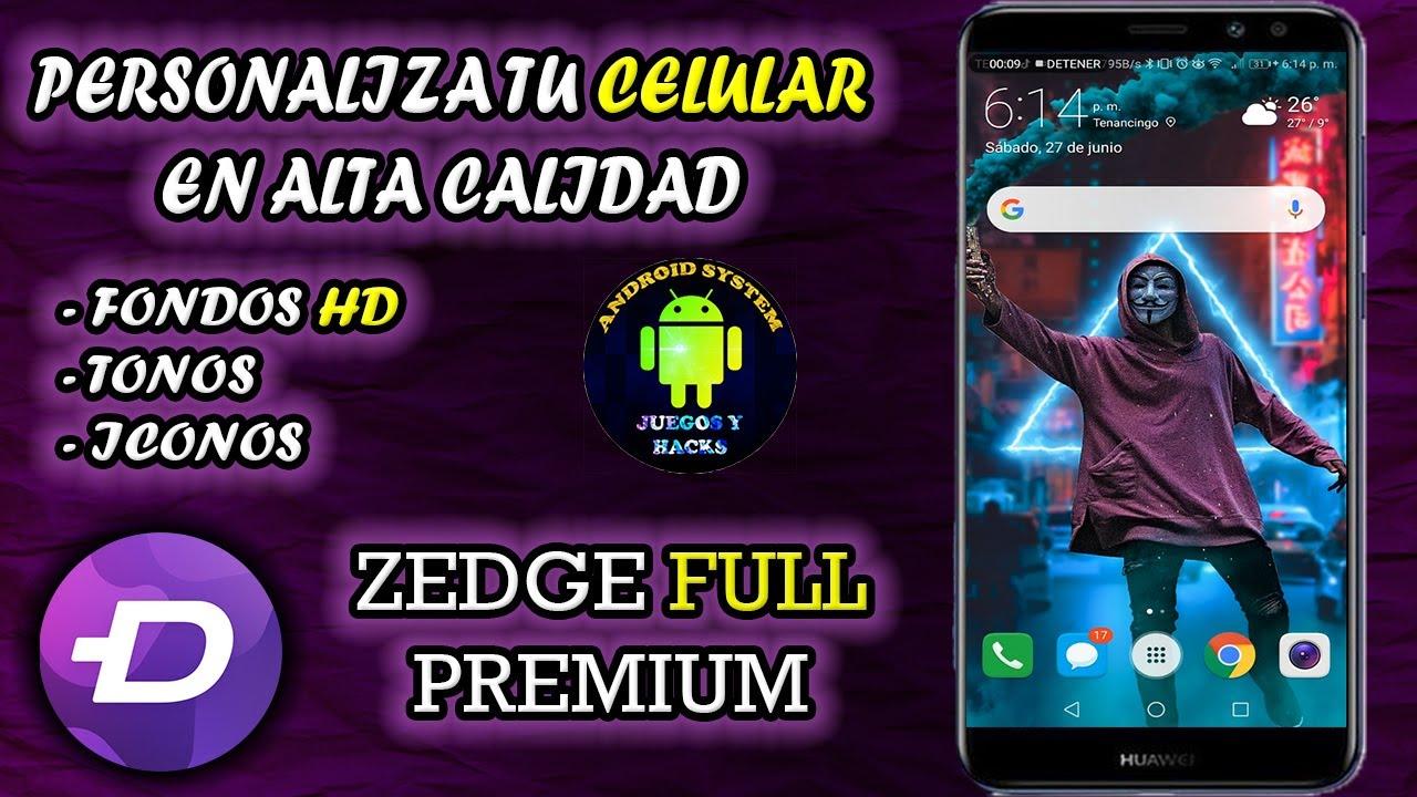 Descargar ZEDGE PREMIUM APK MOD | Android Gratis Full 2020 ...