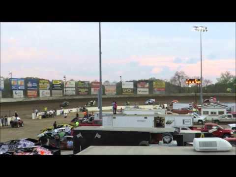 I 55 Raceway 4 18 2015 Amod Heat #2 Dave Armstrong #34