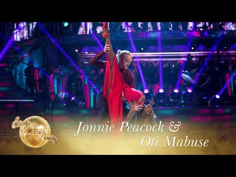 Jonnie Peacock & Oti Mabuse American Smooth to 'Cry Me A River' - Strictly 2017