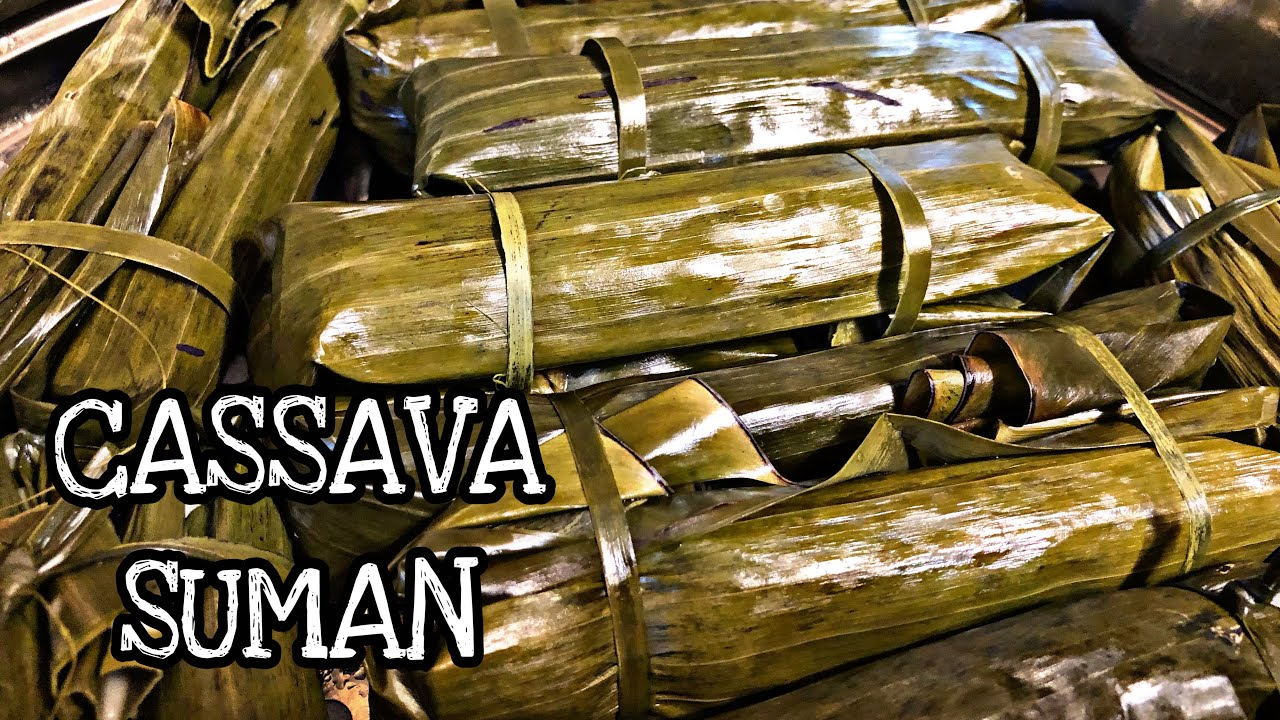 CASSAVA SUMAN l HOW TO MAKE CASSAVA SUMAN l QUICK AND EASY SUMAN RECIPE