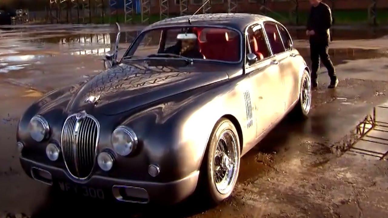 Driving Ian Callum S Custom Jaguar Mk2 Fifth Gear Youtube