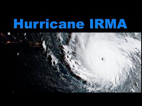 Hurikán Irma - HURRICANE IRMA Nejsilnější Hurikán Historie Slábne Svatý Martin Kuba Florida Dokument