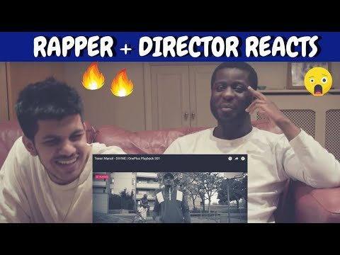Divine - Teesri Manzil Reaction 🔥 🔥 | UK ARTISTS REACT TO INDIAN RAP!!! Mp3